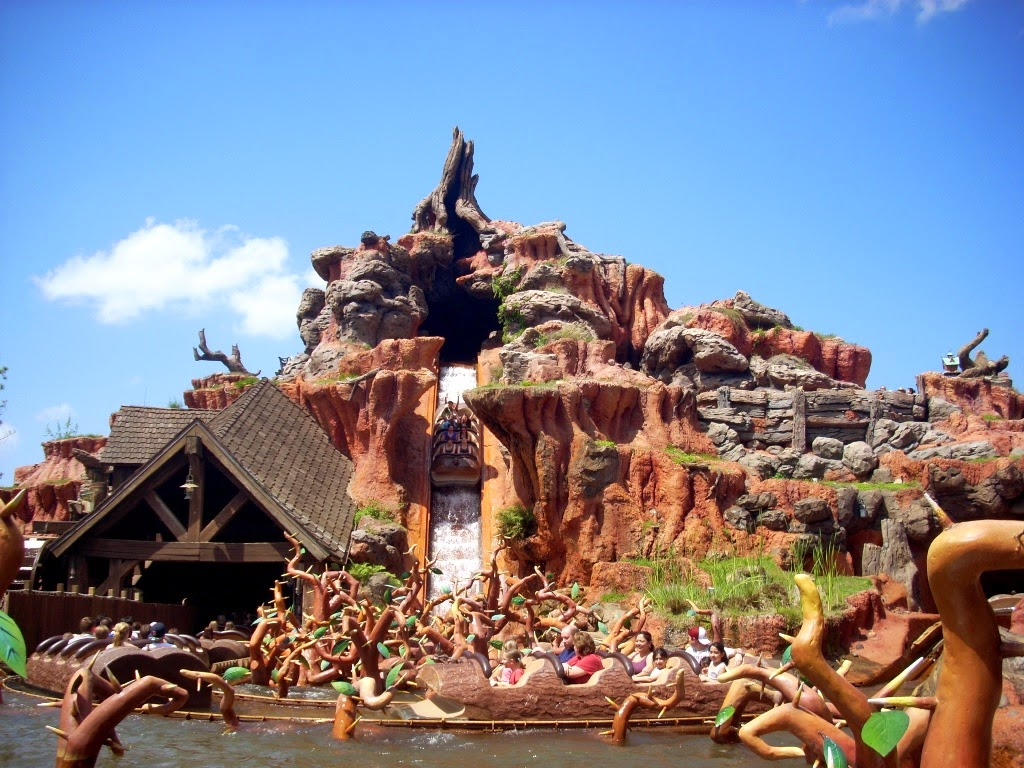 Critter Country is one of Disneylands quietest sections of the park and is a great place to find shade on a sunny day Walk past the Haunted Mansion to